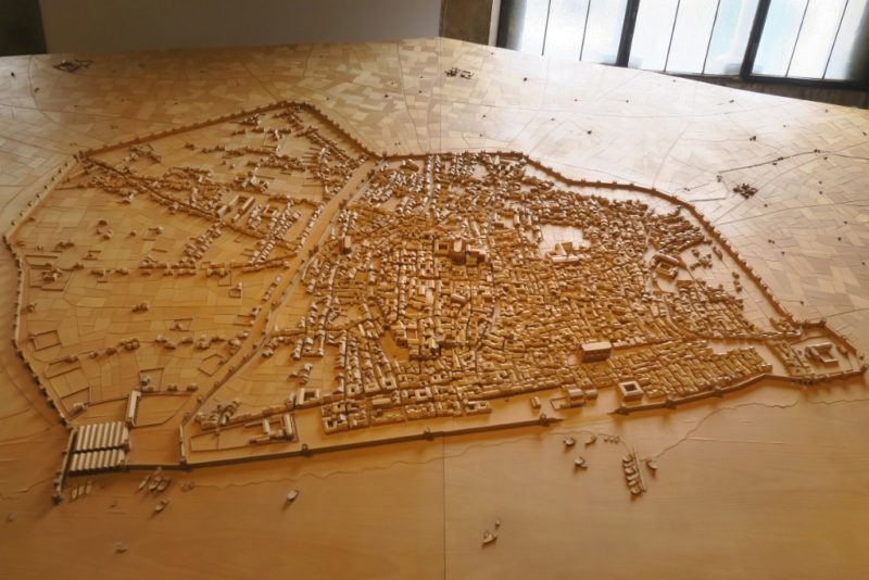 City Map MUHBA Placa del Rei Barcelona