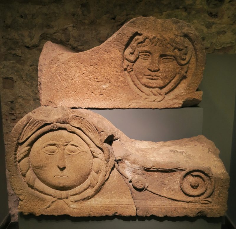 Medusa Funerary Monument MUHBA Placa del Rei Barcelona