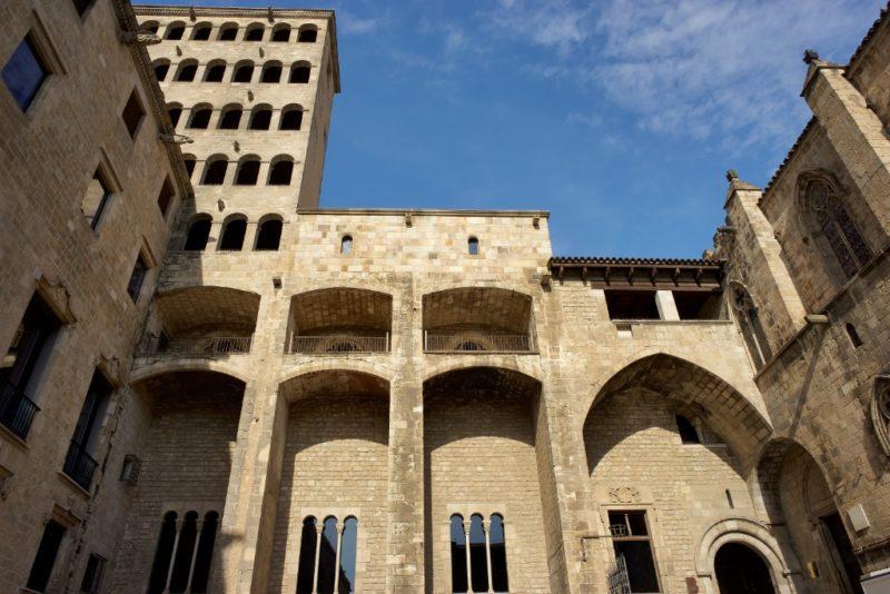 Palau Reial Major MUHBA Placa del Rei Barcelona