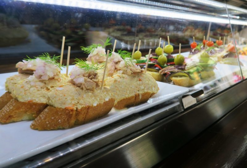 Self Serve Pintxos Txots Sidreria Figueres Spain