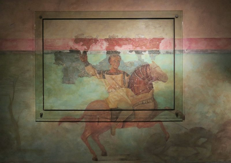 Wall Fresco MUHBA Placa del Rei Barcelona