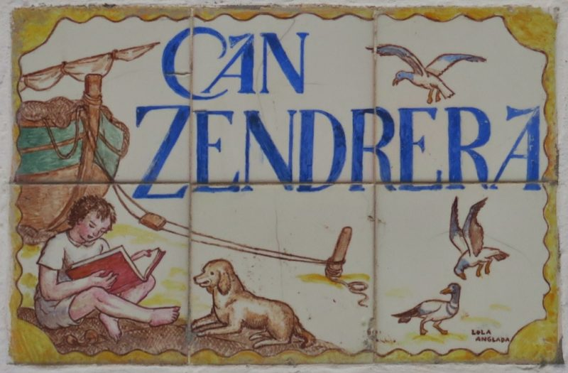 Can Zendrera Tile Mural Cadaques Spain