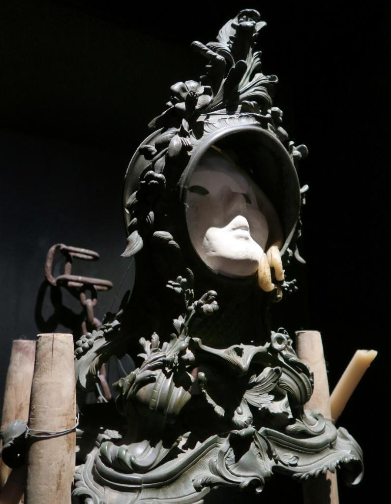 Clock Face Dali Theatre Museum Figueres Spain