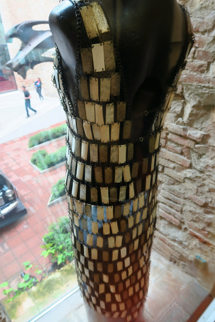 Dress by Paco Rabanne Dali Theatre Museum Figueres Spain