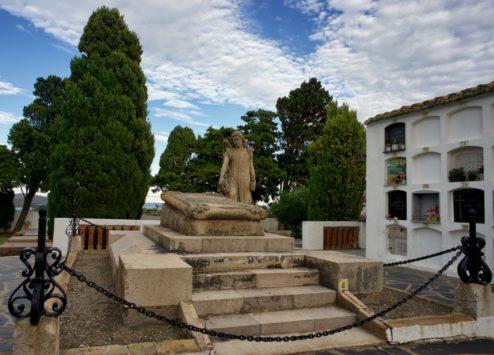 Funerary Art Ermita de Sant Baldiri Cadaques Spain