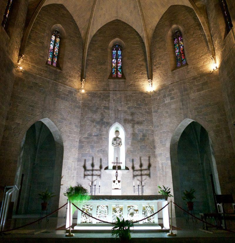 High Altar Saint Peter Figueres Spain