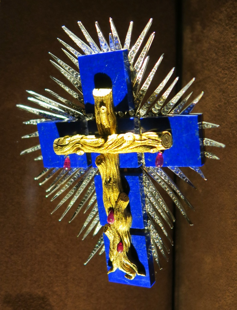 Lapis Lazuli Cross Dali Jewels Figueres Spain