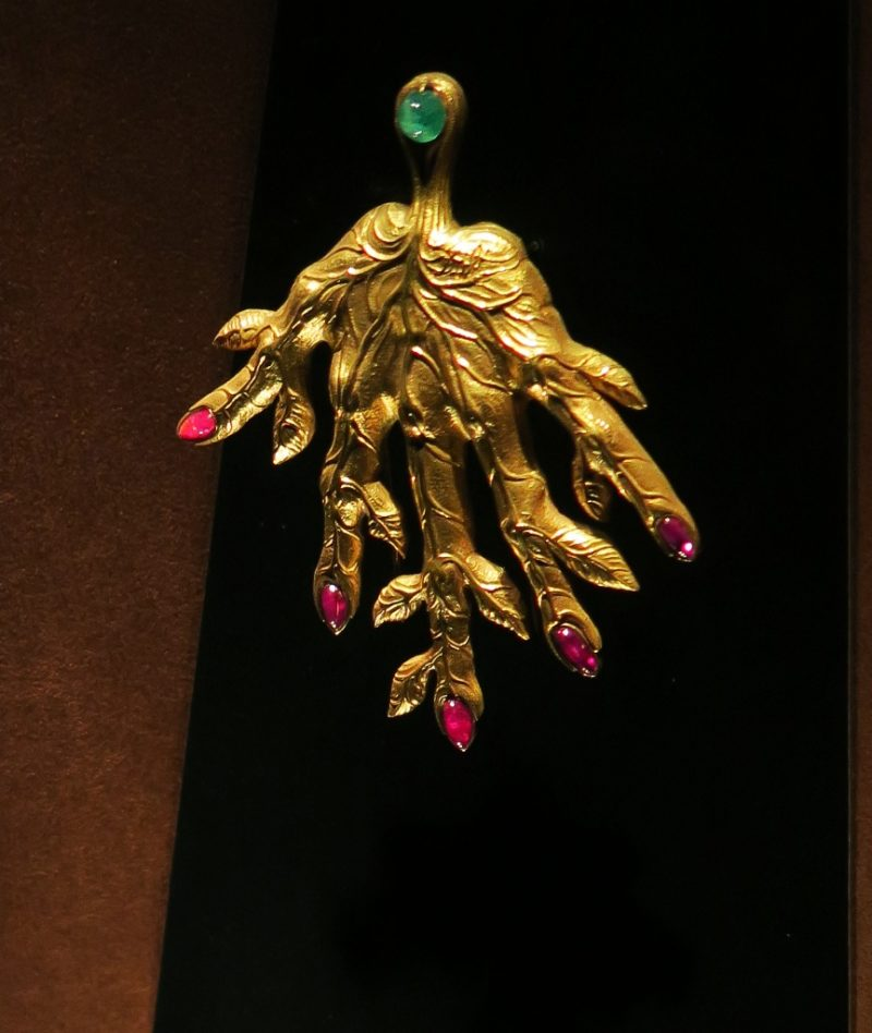 Leaf Veined Hand Dali Jewels Figueres Spain