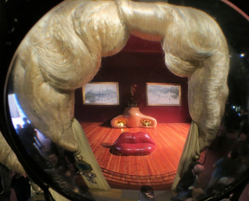 Mae West Room Dali Theatre Museum Figueres Spain