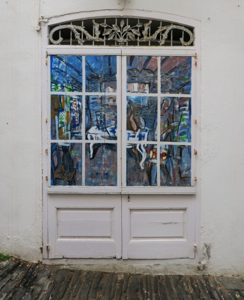 Painted Doors Cadaques Spain