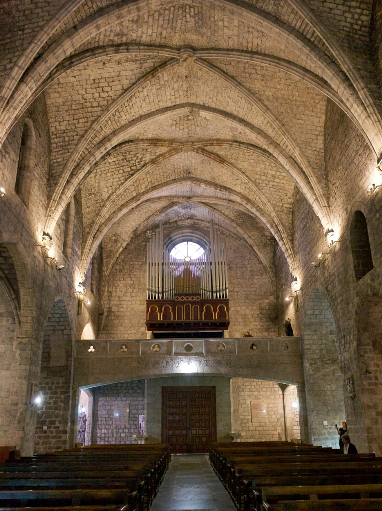 Pipe Organ Church of Saint Peter Figueres Spain
