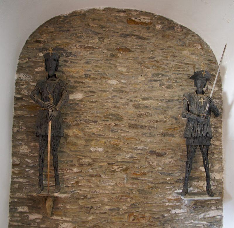 Saints Abdon and Sennen Ermita de Sant Baldiri Cadaques Spain