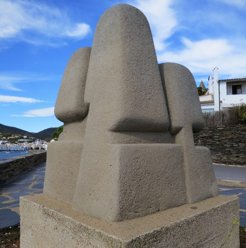 Sculpture of Four Winds by Francois Stahly Cadaques Spain