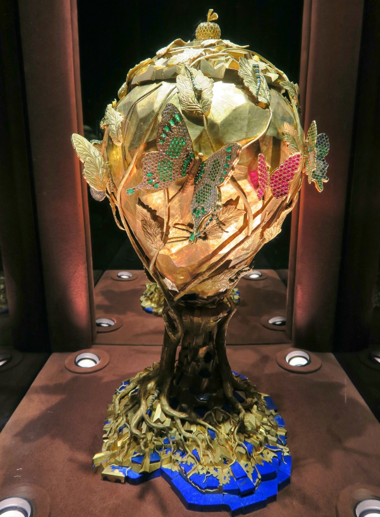 The Chalice of Life Dali Jewels Figueres Spain