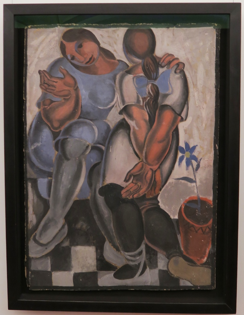Two Girls Dali Theatre Museum Figueres Spain