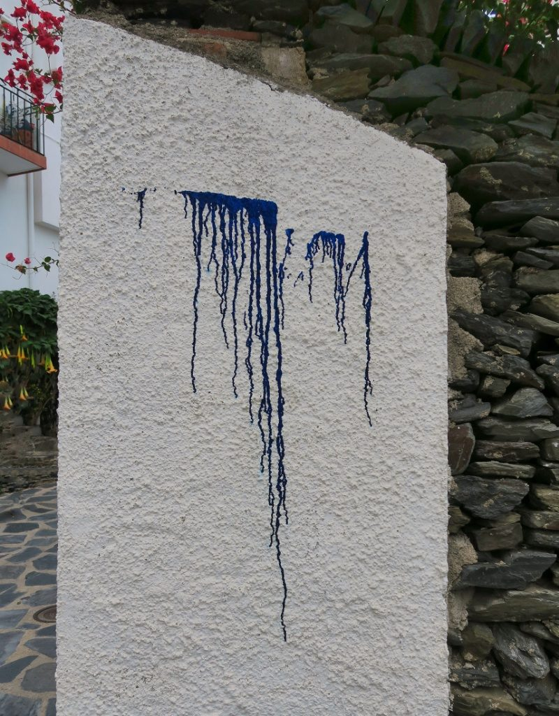 Weeping Wall Cadaques Spain