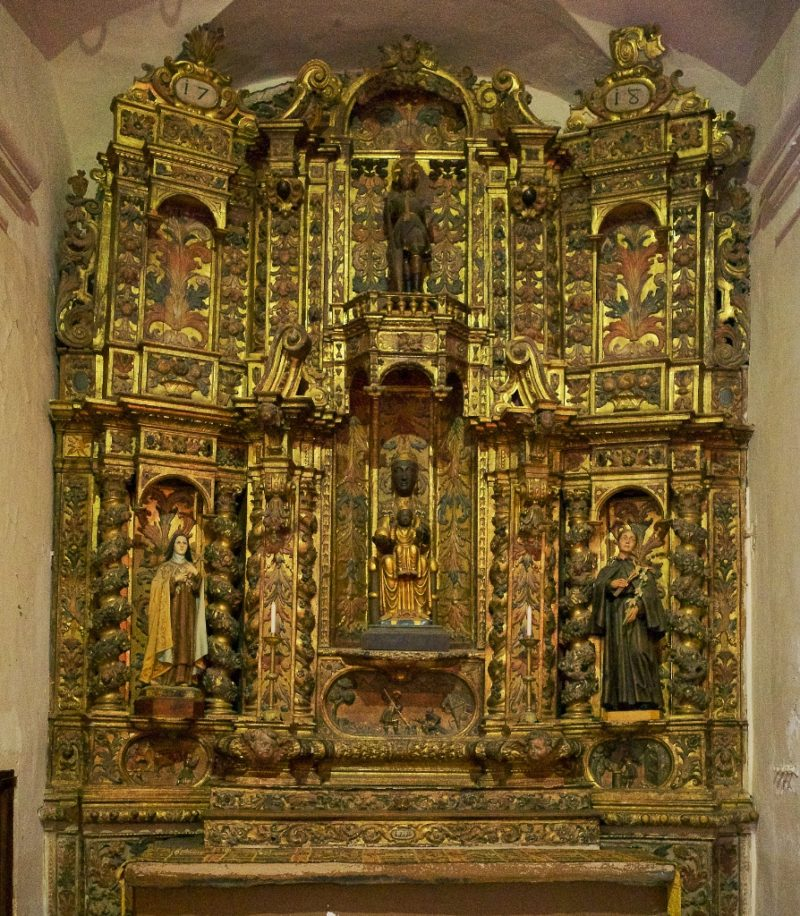 Altarpiece Isidore and Black Madonna Church of Santa Maria Cadaques Spain