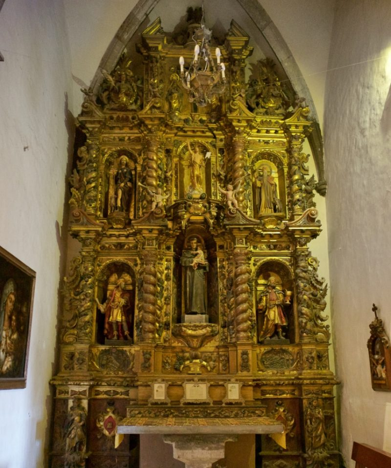Altarpiece of Saint Anthony of Padua Church of Santa Maria Cadaques Spain