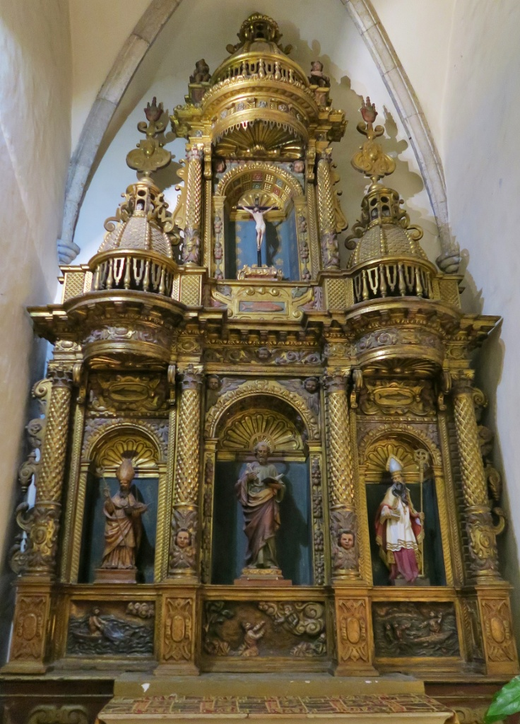 Altarpiece to Saint Peter Church of Santa Maria Cadaques Spain