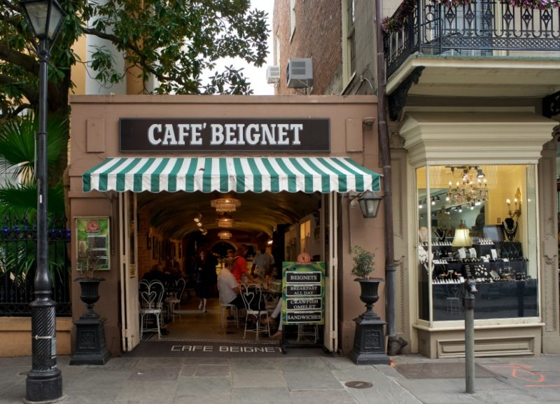 Cafe Beignet Royal Street New Orleans