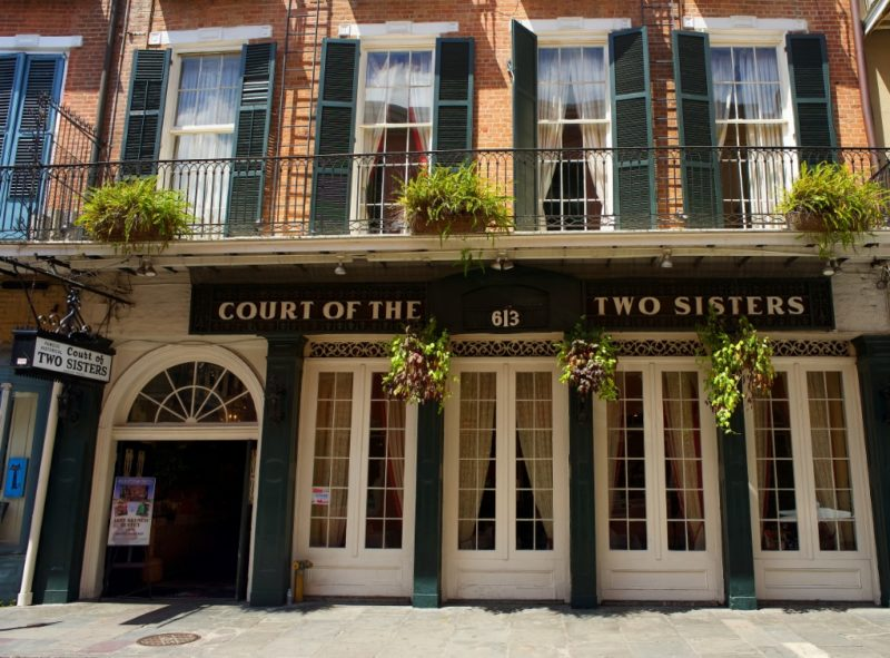Court of the Two Sisters Royal Street New Orleans