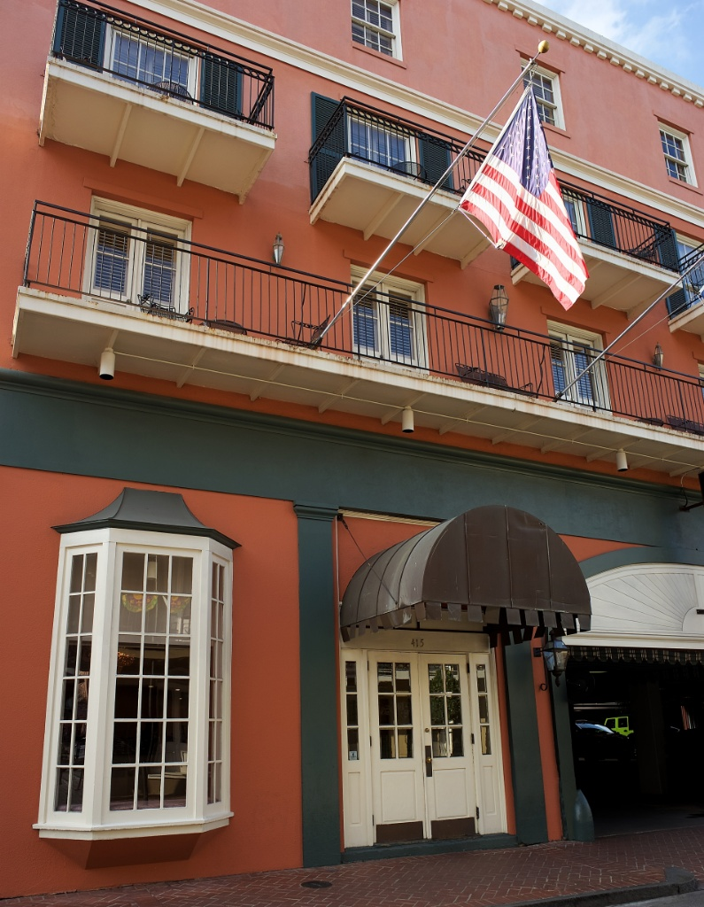 Exterior Dauphine Orleans Hotel New Orleans