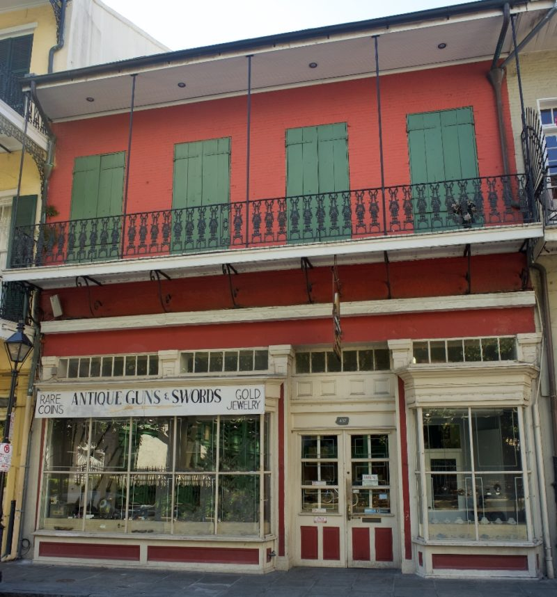 Exterior James H Cohen and Sons Royal Street New Orleans
