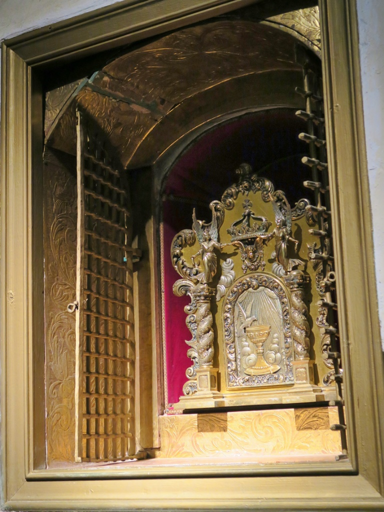 Golden Tabernacle Church of Santa Maria Cadaques Spain