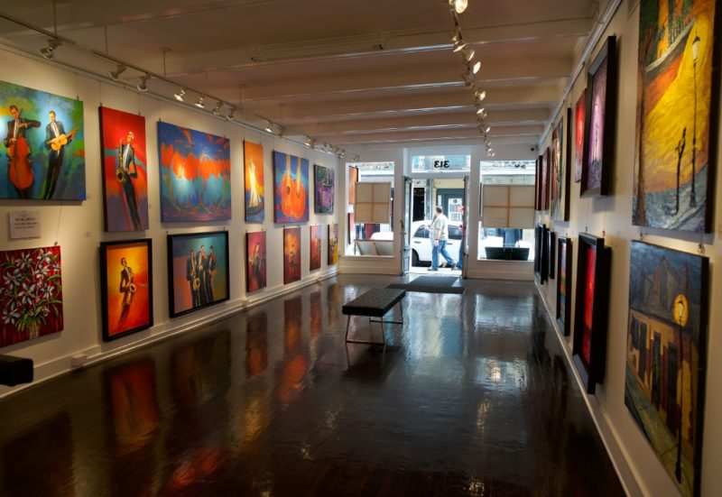 Lozano and Barbuti Fine Art Gallery Royal Street New Orleans