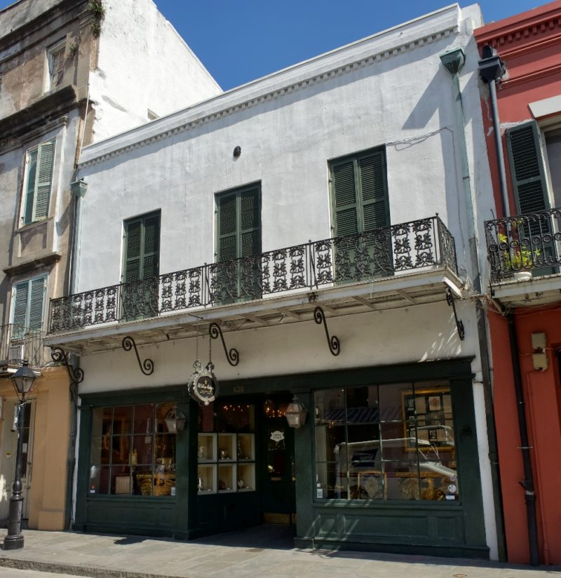MS Rau Antiques Exterior Royal Street New Orleans