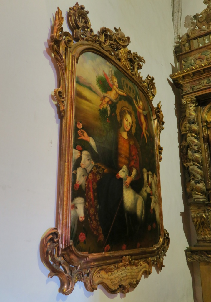 Painting of Divine Shepherdess Church of Santa Maria Cadaques Spain
