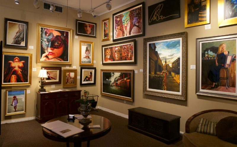 Peter O'Neill Studios Interior Royal Street New Orleans
