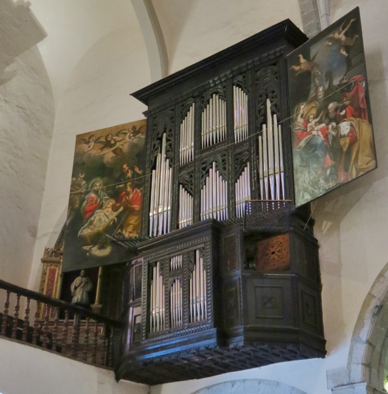 Pipe Organ Church of Santa Maria Cadaques Spain