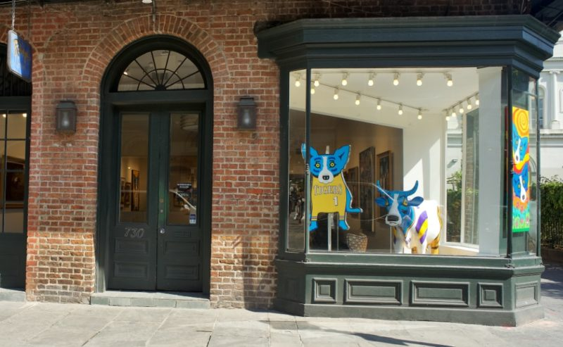 Rodrigue Gallery Exterior Royal Street New Orleans