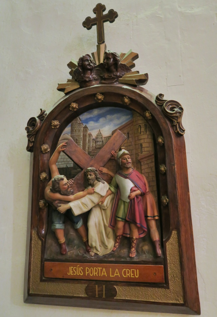 Stations of the Cross Relief Church of Santa Maria Cadaques Spain