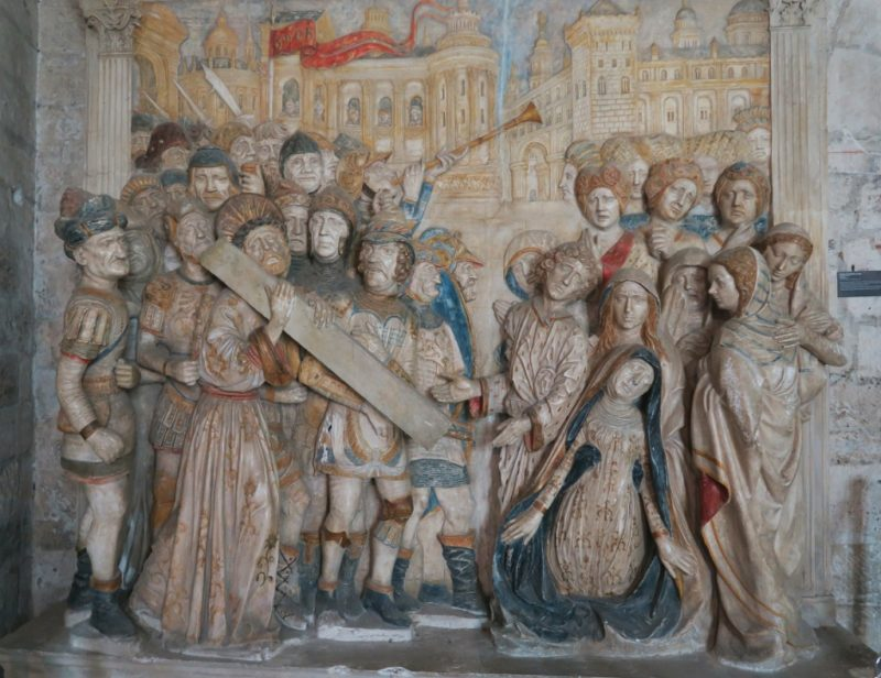 Altarpiece Carrying of the Cross Palace of the Popes Avignon France