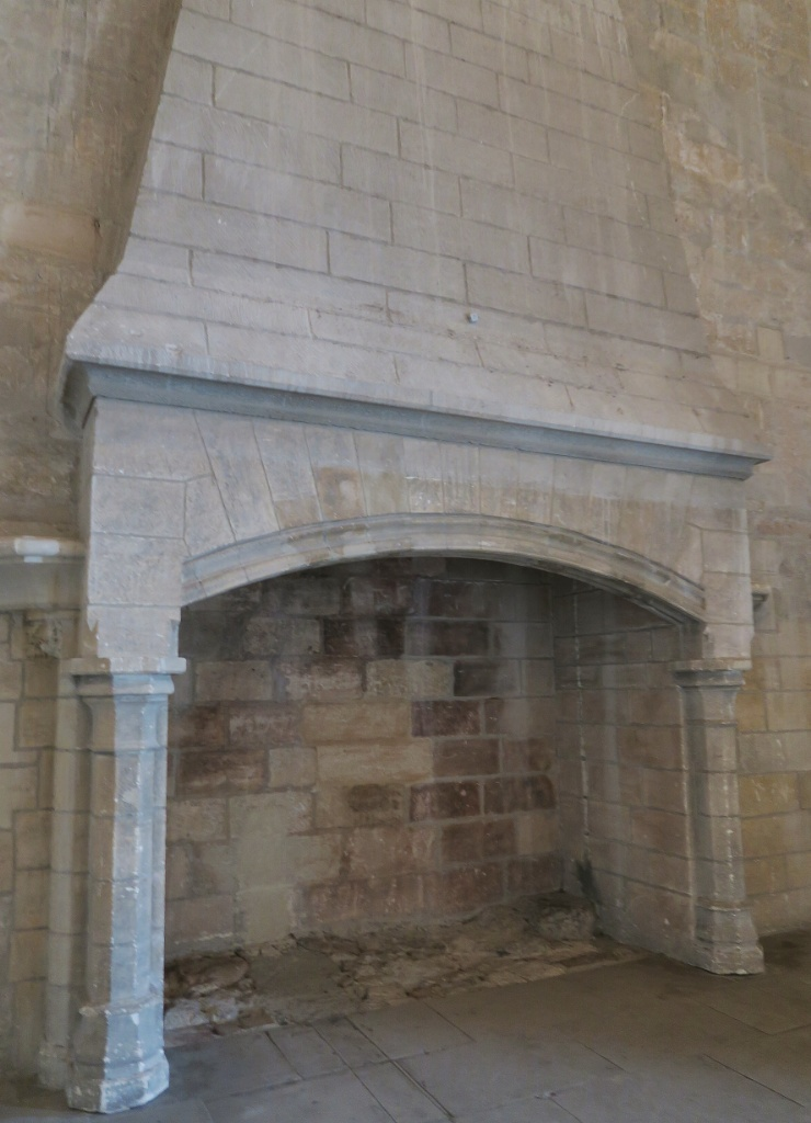 Fireplace Palace of the Popes Avignon France