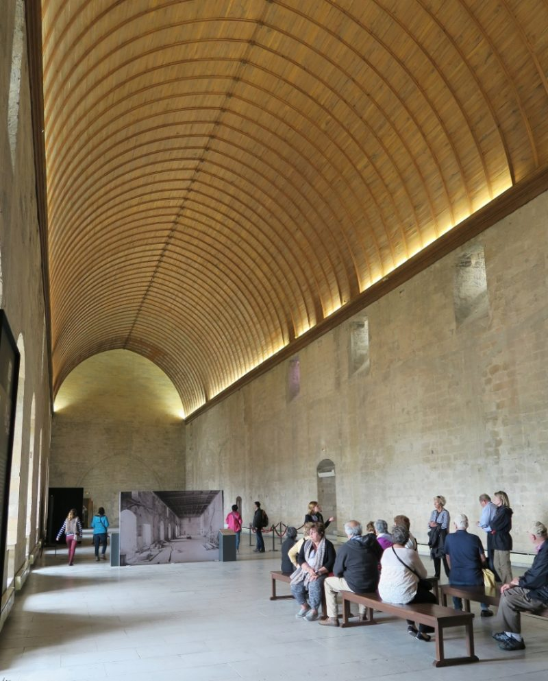 Grand Tinel Hall Palace of the Popes Avignon France