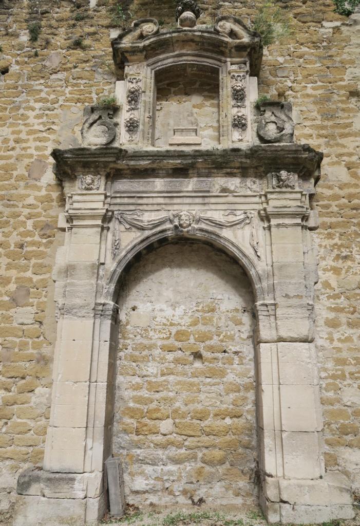 Hospice Chapel Portal Palace of the Popes Avignon France