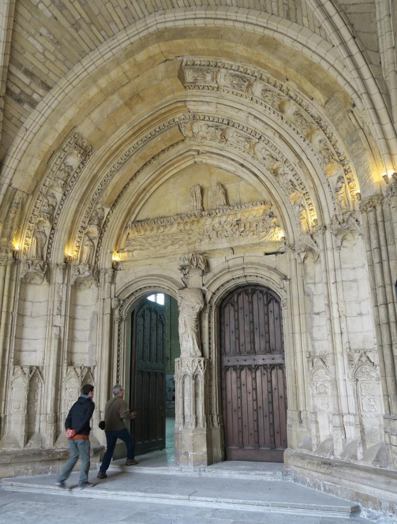 Magna Porta Palace of the Popes Avignon France