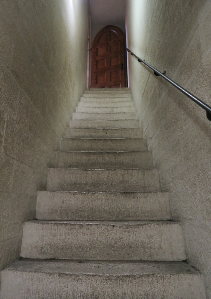 Narrow Stairway Palace of the Popes Avignon France