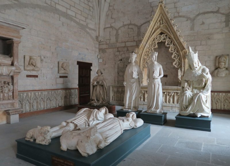 North Sacristy Palace of the Popes Avignon France