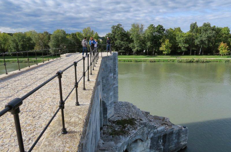 Observation Deck Bridge of Avignon