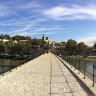 Panoramic View from Bridge of Avignon