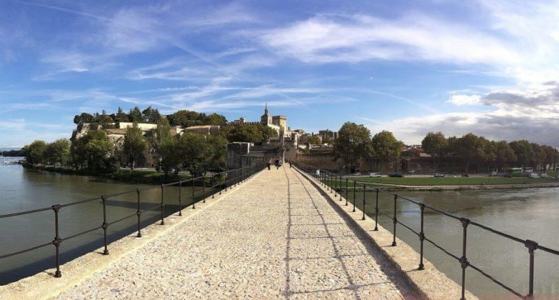 Panoramic View from Bridge of Avignon