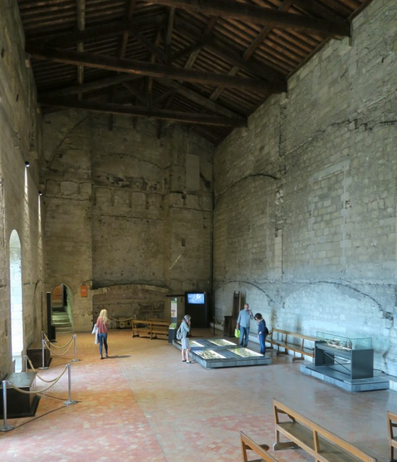 Parement Chamber Palace of the Popes Avignon France