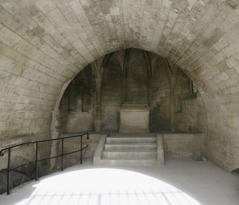 Saint Nicolas Chapel Bridge of Avignon