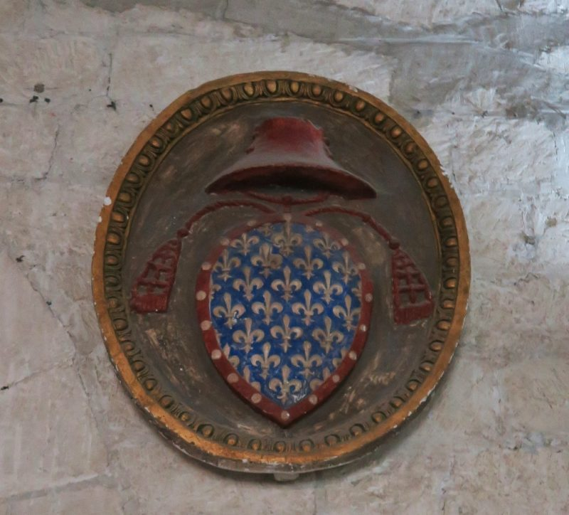 Shield of Philippe of Alencon Palace of the Popes Avignon France