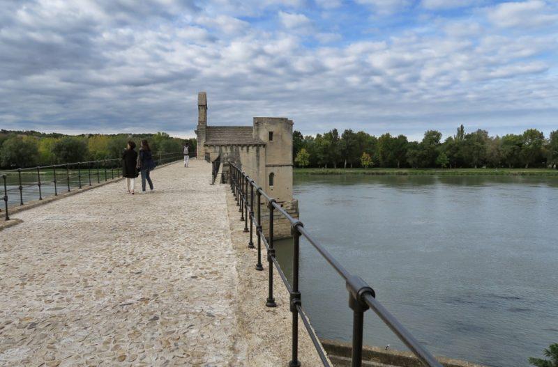 Side View of Chapel on Bridge of Avignon