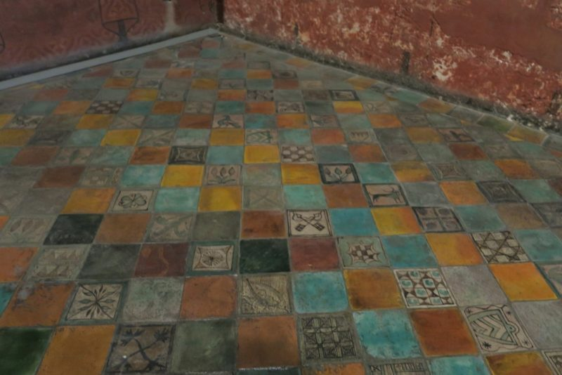 Tile Floor Palace of the Popes Avignon France